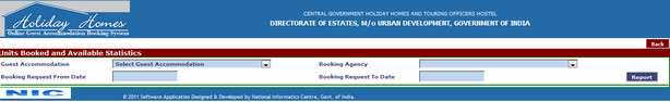 How to book CG Holiday home in the new online booking system?