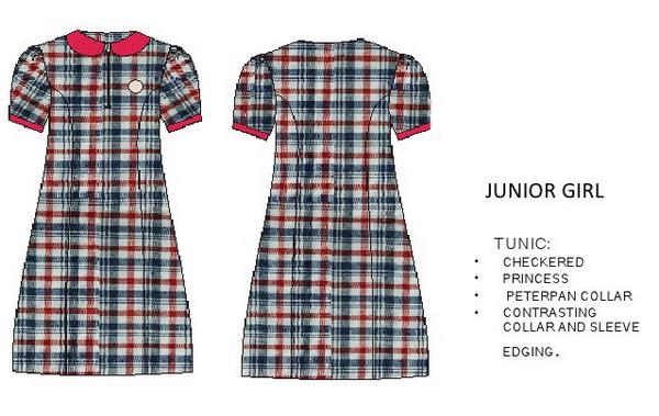 new kv uniforms for junior girls