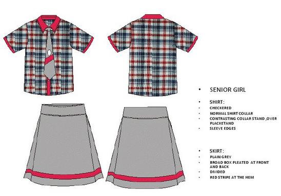new kv uniforms for senior girls type 2