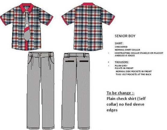 new kv uniform for senior boys
