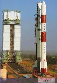 Lanuch pad of PSLV C21 rocket