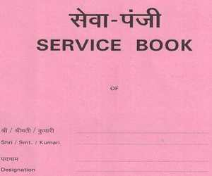 Whether Service Book of a Government Employee can be supplied under RTI
