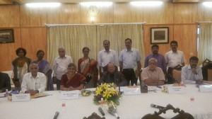 Confederation office bearers met 7th pay commission chairman and members