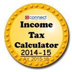 Income Tax Calculator for year FY 2014-15 and AY 2015-16