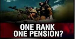 one rank one pension - Latest position