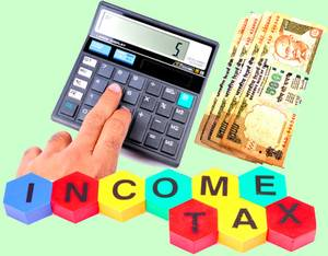 GConnect Income Tax Calculator with save option for the year 2015-16