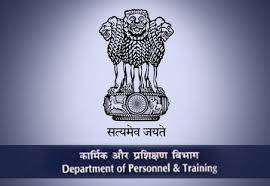 department of personnel and training - DOPT - major work done in 2015