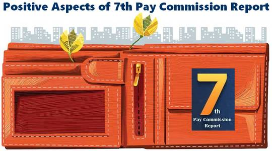 7th Pay Commission Positive aspects