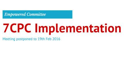 7th Pay Commission implementation committee meeting