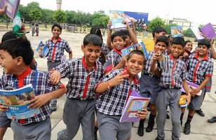 KV School students to hand over books to next batch of students