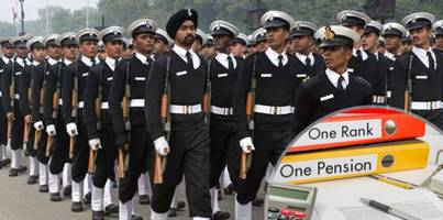 OROP to be reviewed every five years