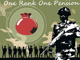 OROP anomalies submitted to one man judicial commission