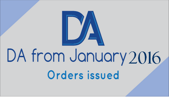 DA from January 2016 for employees drawing pay in 5th CPC pay