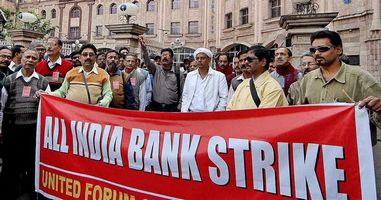 Eighteen Bank Strikes have been observed in the last three years