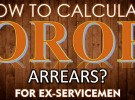 OROP – One Rank One Pension Arrears Calculator – Get to know your OROP Arrears at ease