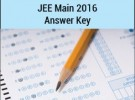 JEE MAIN 2016 Answer Key | Paper Solutions | video solutions