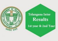 TS Inter Results 2016 - I and II year General Vocational results