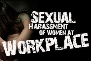 Sexual harassment of women in work place