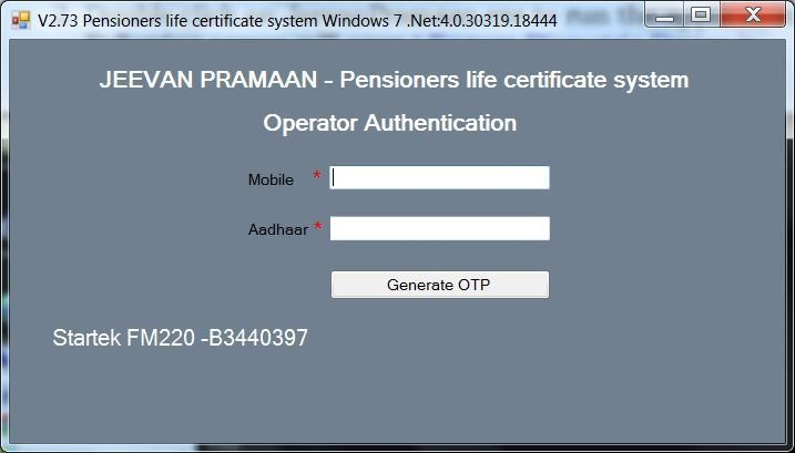 digital life certificate registration