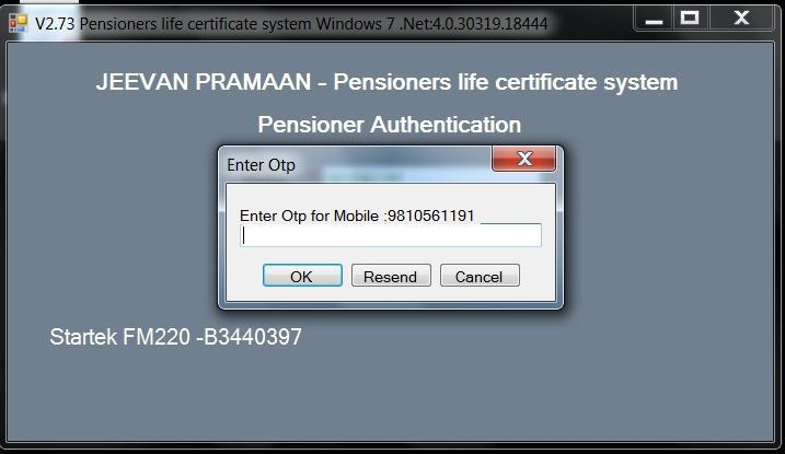 Central Government Pensioners online life certificate - How to Guide