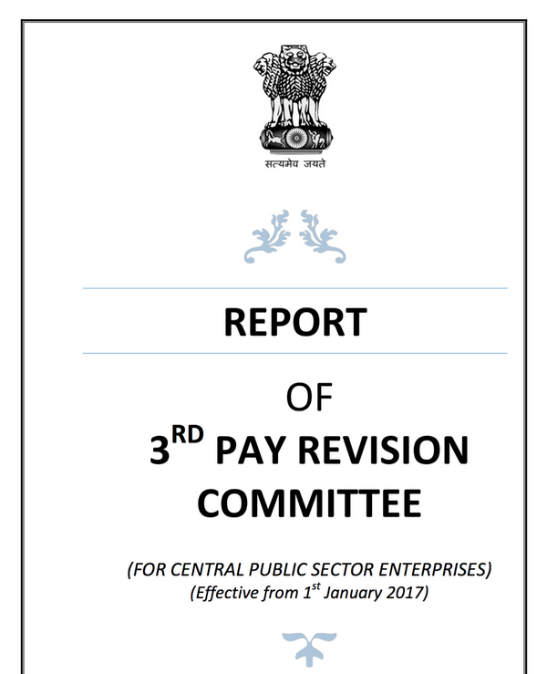 3rd pay revision committee report
