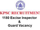 KPSCRecruitment 2017 – 1180 Excise Sub Inspectors & Excise Guards Vacancies