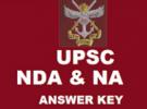 NDA-1 ANSWER KEY 2017 / NDA NA Answer Keys 2017