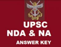UPSC NDA-1 ANSWER KEY 2017