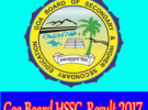Goa HSSC Results 2017 / Goa 12th Result 2017 declared