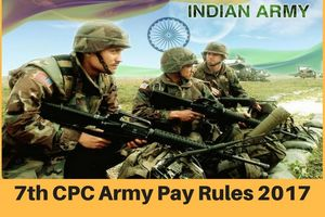 7th Pay Commission Army Pay Rules 2017- Date of increment