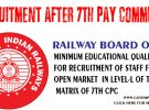 Minimum Educational Qualification in Level 1 of 7th Pay Commission Pay Matrix in Railways