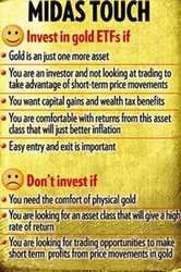 5 Benefits that you reap while investing in Gold ETF