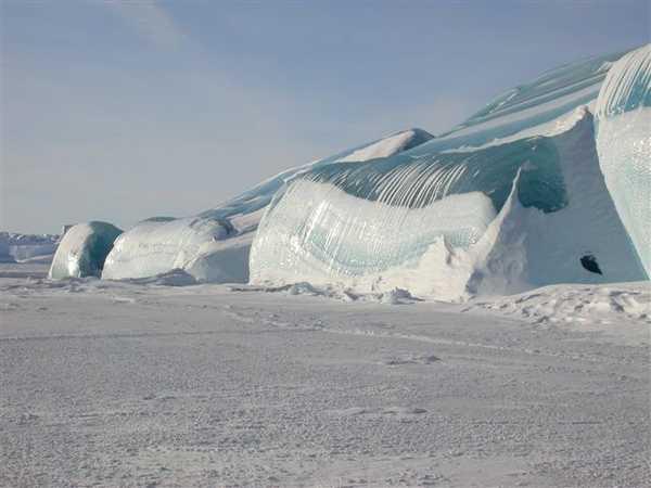 icebergs of Antarctic
