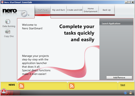 nero 9 essentials,cd writing software,dvd writing software,nero, free nero