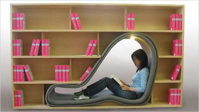 most creative book-shelves design