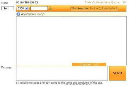 free sms through internet